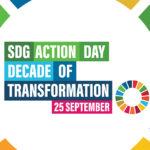 25 September GlobalGoals-dag Op Papaver